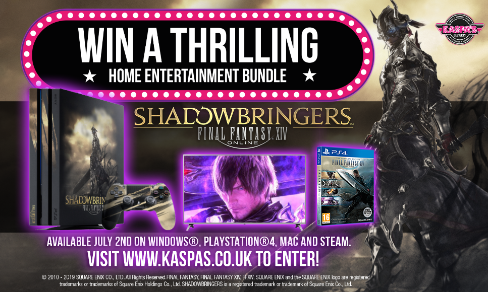 Win a Thrilling Home Entertainment Bundle with Final Fantasy XIV